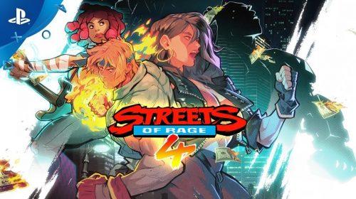 Estúdio revela lista de troféus de Streets of Rage 4