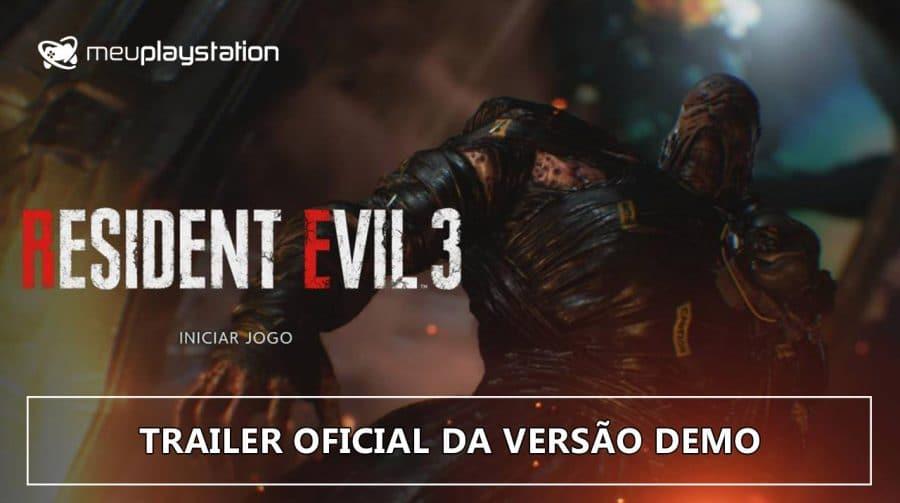 Resident Evil 3: trailer oficial da DEMO