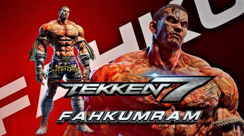 Fahkumran, novo lutador de Tekken 7, ganha data de estreia