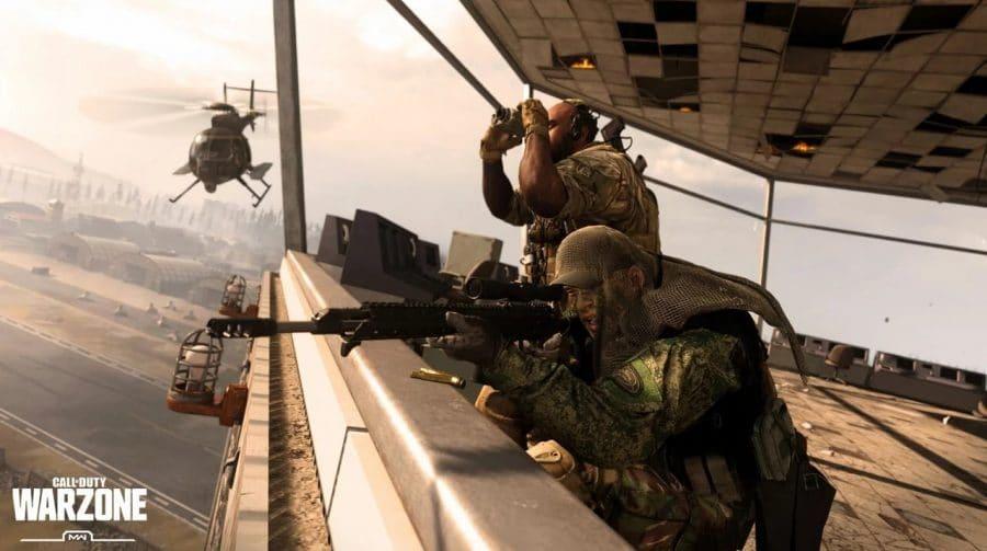 Atualização de Call of Duty: Warzone é adiada pela Infinity Ward