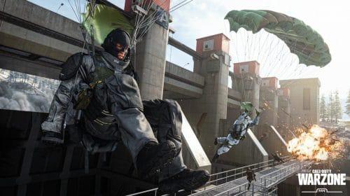 Bug bizarro em Call of Duty: Warzone faz caixa de suprimentos