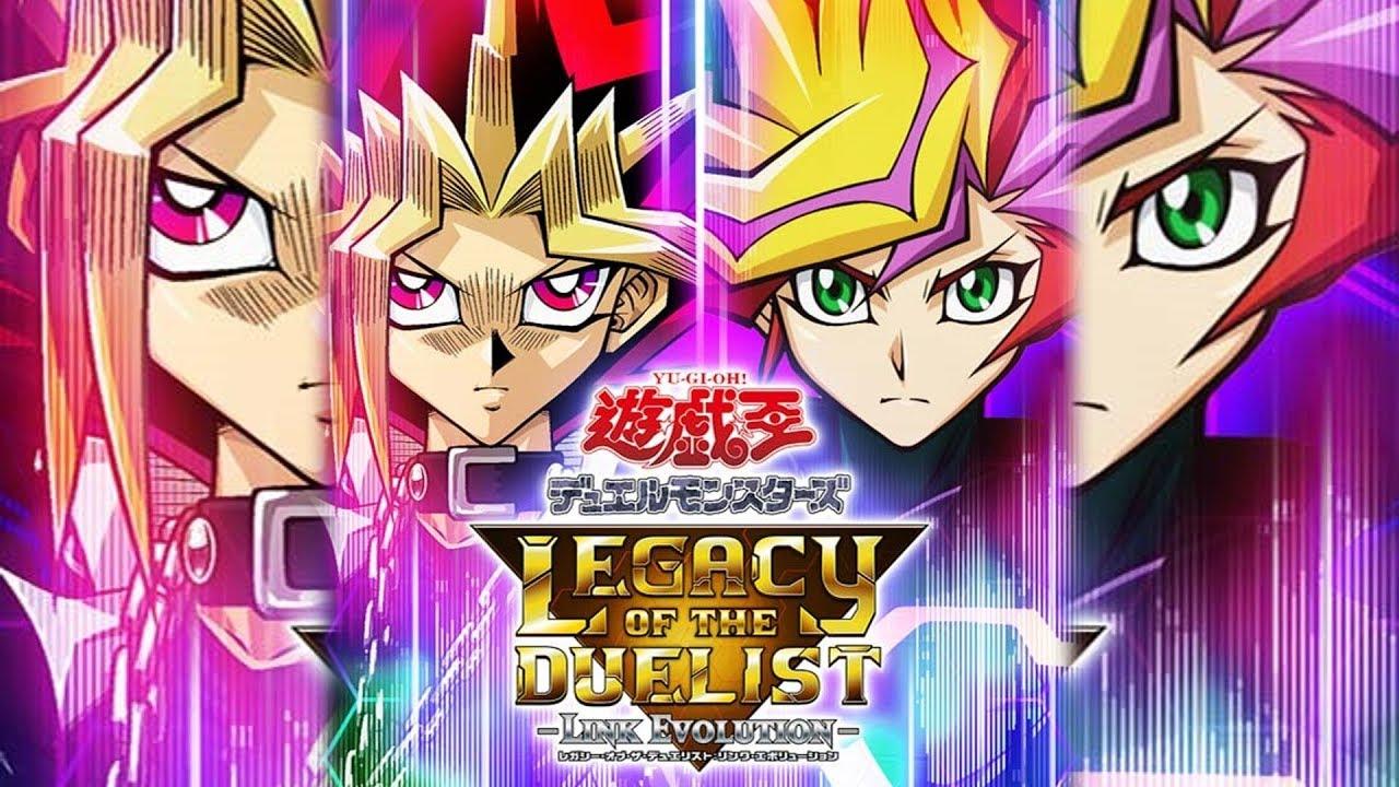 Yu-Gi-Oh! Legacy of the Duelist: Link Evolution chegará ao PS4 em março