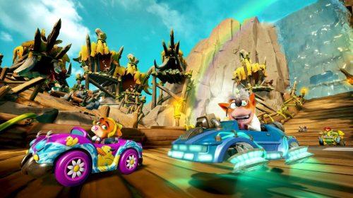 Crash Team Racing Nitro-Fueled ganha conteúdo bônus e novas funcionalidades