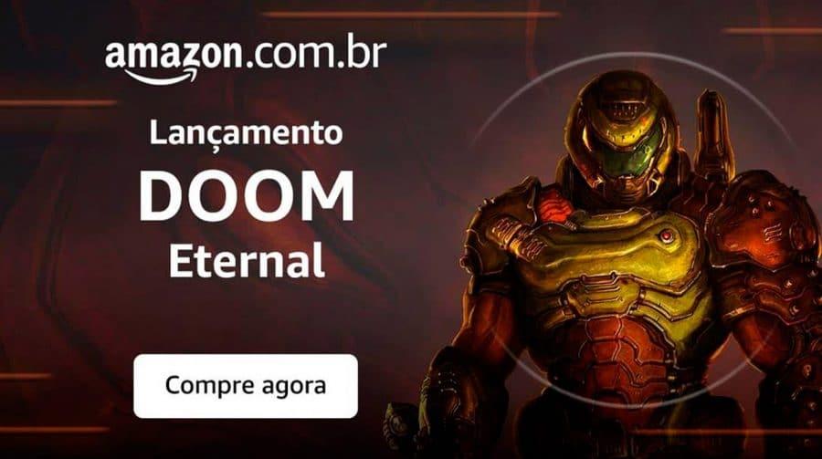 Infernal! Temos um código de desconto especial para DOOM Eternal; Pegue aqui!