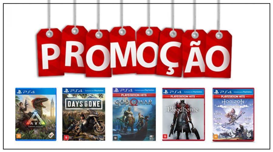 Por até R$ 100! Veja as melhores promoções em jogos de PS4