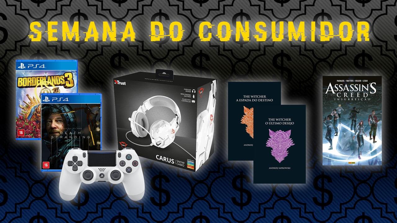 Semana do Consumidor: confira os melhores descontos gamers