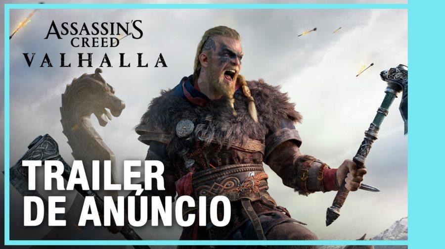 Épico! Assassin's Creed Valhalla recebe trailer recheado de vikings