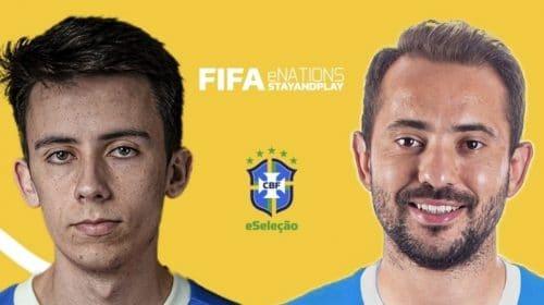Com Everton Ribeiro, Brasil vence FIFA eNations StayAndPlay Cup