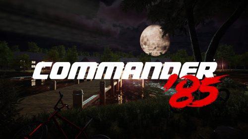 Commander' 85, jogo sci-fi retrô, é anunciado para o PS4