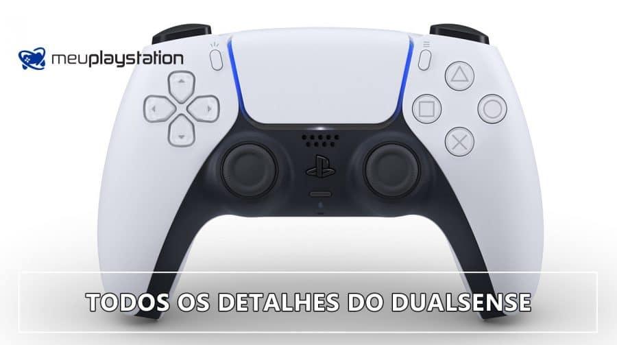 TODOS os detalhes do DualSense, CONTROLE DO PlayStation 5