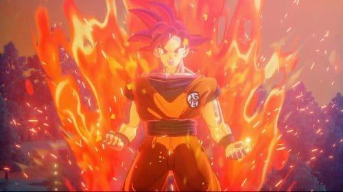 Teaser de Dragon Ball Z: Kakarot mostra Goku Super Sayajin Deus e Bills em combate