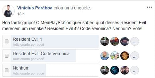 Enquete Code Veronica