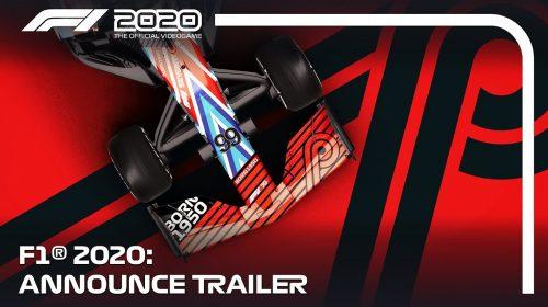 Hoje sim! Codemasters anuncia que F1 2020 chegará em Julho