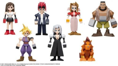 Square Enix disponibiliza pré-venda de bonecos poligonais de Final Fantasy VII