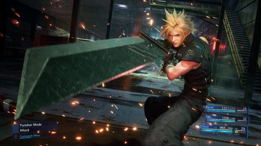 Final Fantasy VII Remake: Fã cria espadas 3D de Cloud