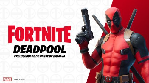 Com direito a trailer cômico, skin de Deadpool é lançada em Fortnite