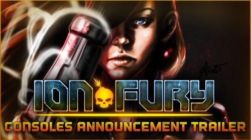 Ion Fury, um FPS retrô, chegará aos consoles em 14 de Maio
