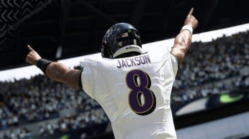 MVP da temporada passada, Lamar Jackson é a capa do Madden NFL 21