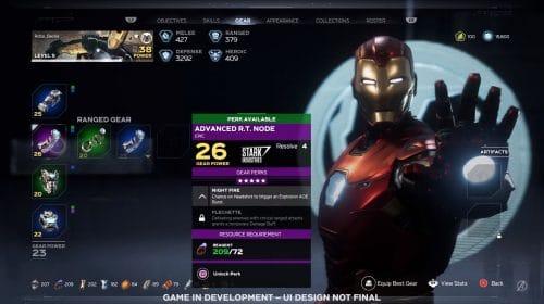 Marvel's Avengers terá mais de 100 perks únicos para os equipamentos