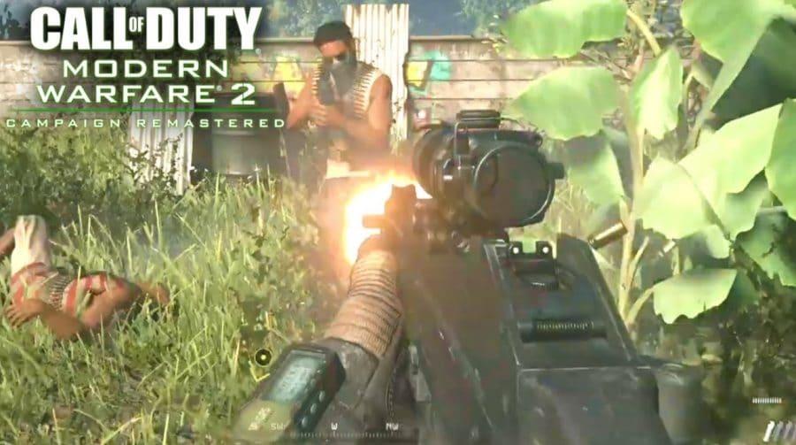 Activision explica ausência de multiplayer em Modern Warfare 2 Campaign Remastered
