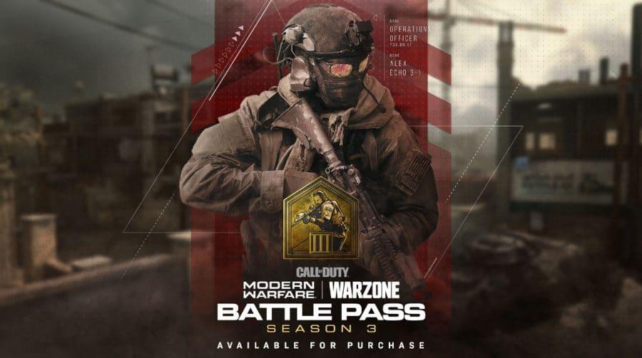 CoD: Modern Warfare: passe da 3ª temporada sai hoje; veja detalhes