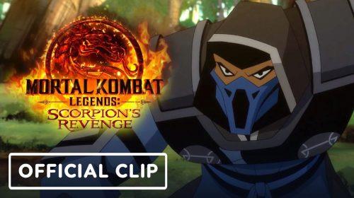 Mortal Kombat Legends: Scorpion's Revenge é adiado em dois dias