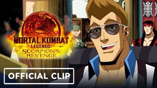Mortal Kombat Legends: Scorpion's Revenge recebe trailer focado em Johnny Cage