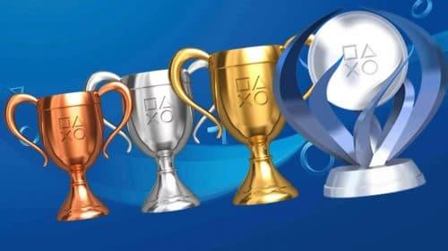 Mais de 10 mil jogos de PlayStation tem troféus, diz website