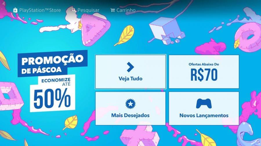 Promoção de Páscoa na PS Store: veja jogos e preços com descontos!