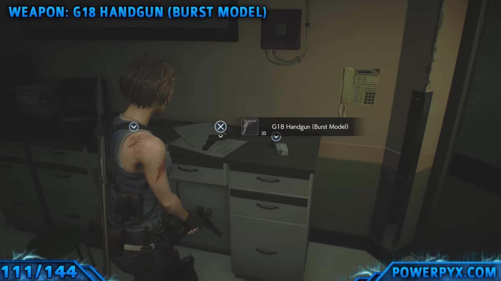 [Guia] Como encontrar todos os colecionáveis de Resident Evil 3 107