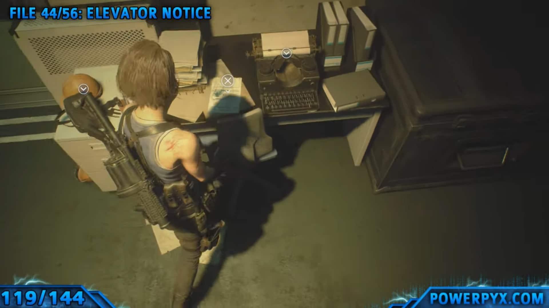 [Guia] Como encontrar todos os colecionáveis de Resident Evil 3 115