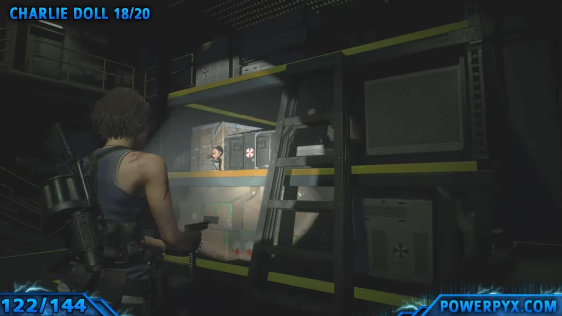 [Guia] Como encontrar todos os colecionáveis de Resident Evil 3 117