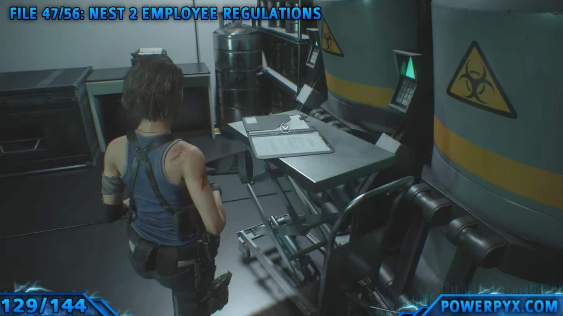 [Guia] Como encontrar todos os colecionáveis de Resident Evil 3 124