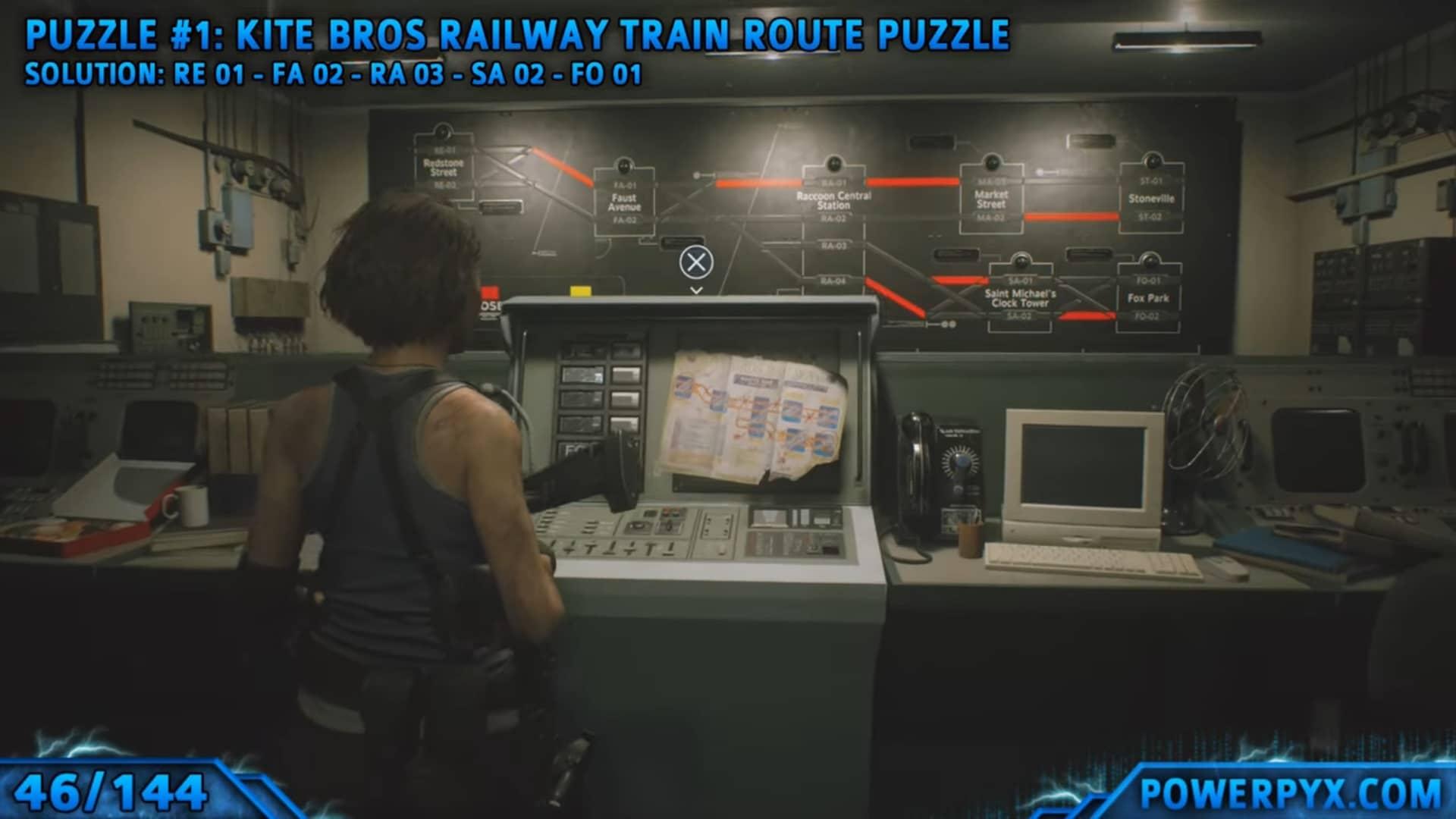 [Guia] Como encontrar todos os colecionáveis de Resident Evil 3 44