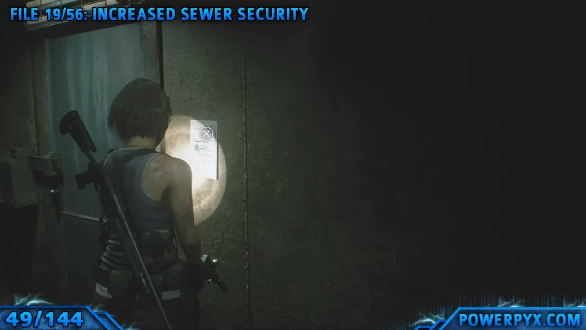 [Guia] Como encontrar todos os colecionáveis de Resident Evil 3 47