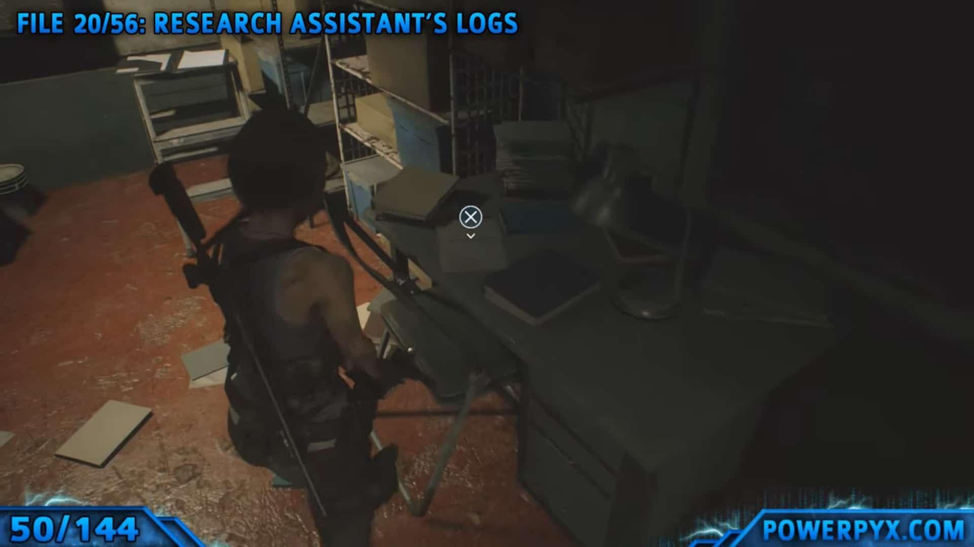 [Guia] Como encontrar todos os colecionáveis de Resident Evil 3 48