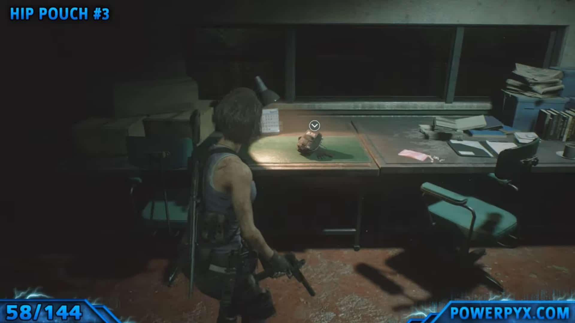 [Guia] Como encontrar todos os colecionáveis de Resident Evil 3 56