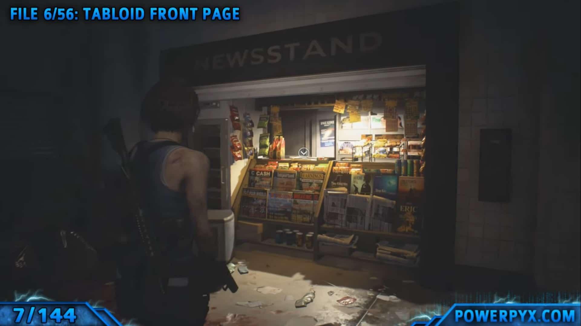 [Guia] Como encontrar todos os colecionáveis de Resident Evil 3 7