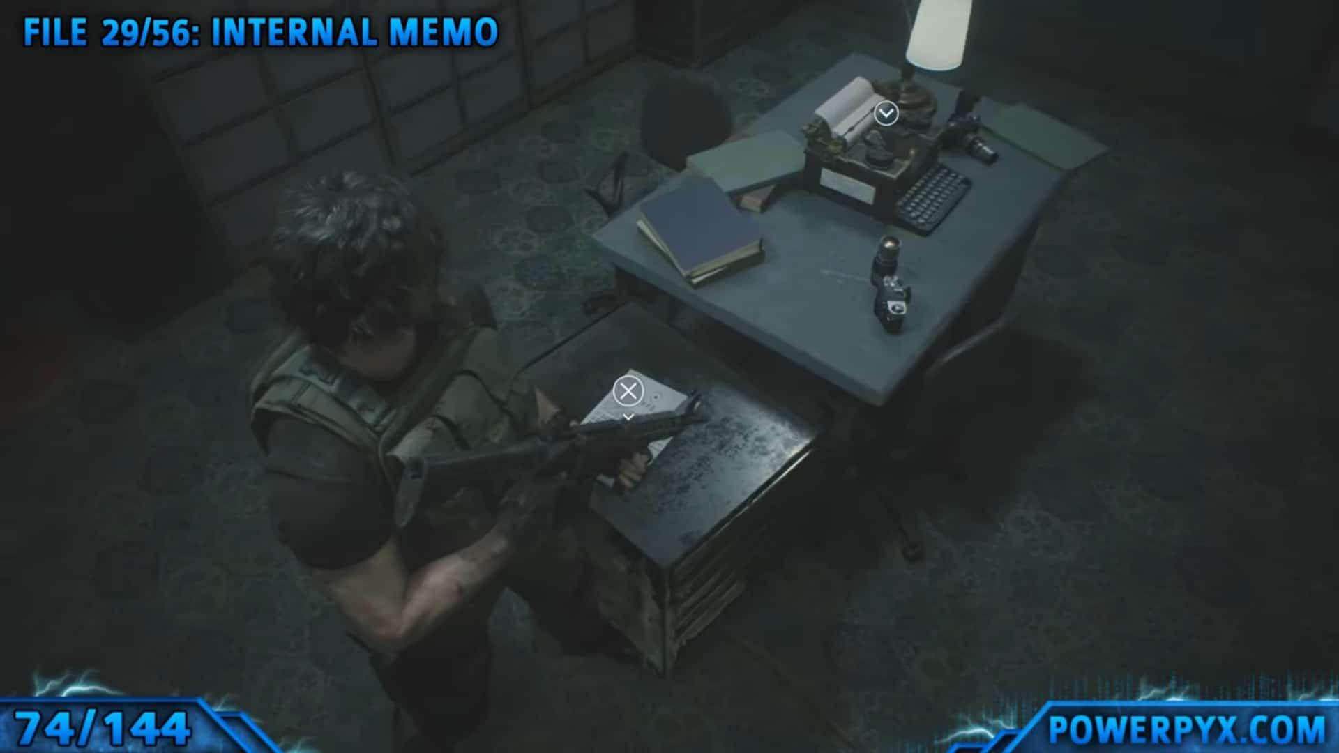 [Guia] Como encontrar todos os colecionáveis de Resident Evil 3 71