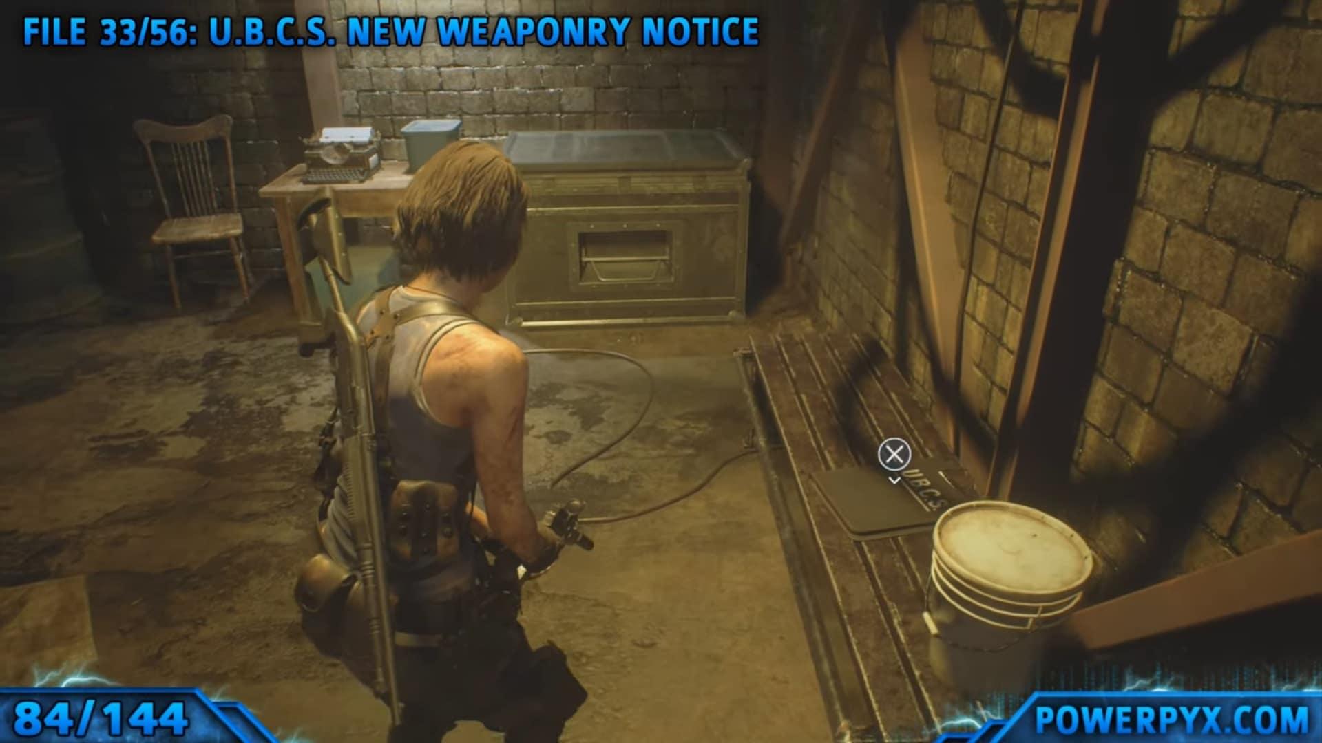 [Guia] Como encontrar todos os colecionáveis de Resident Evil 3 81