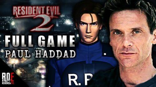 Falece dublador de Leon no Resident Evil 2 clássico