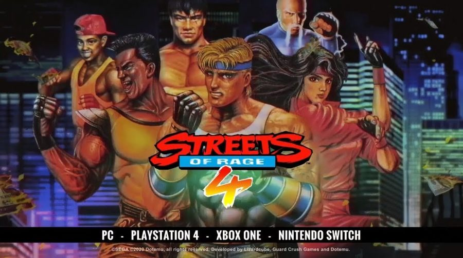Streets of Rage 4 - Modo retrô