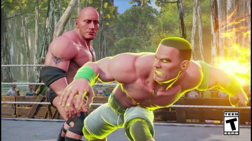 Com foco no arcade, WWE 2K Battlegrounds é anunciado pela 2K