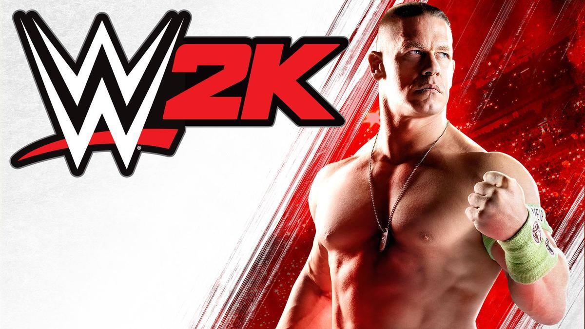 John Cena, lutador profissional na capa de WWE 2K21