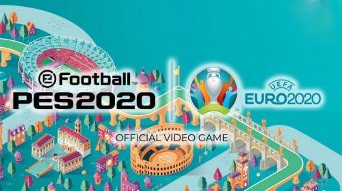 Expansão UEFA Euro 2020 do PES 2020 é adiada