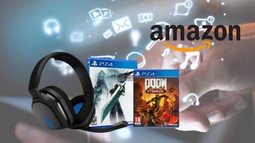 Terça Tech na Amazon traz jogos e acessórios de PS4 com descontos