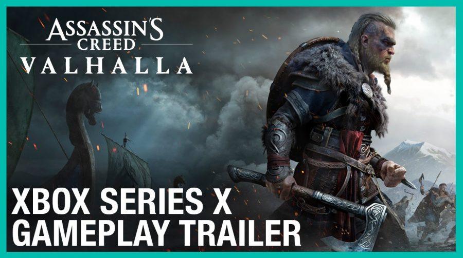 Assassin's Creed Valhalla ganha primeiro vídeo in-game com muitas batalhas