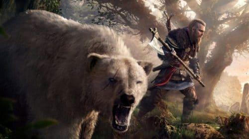 Pôster viking em The Division 2 foi coincidência, diz dev de Assassin's Creed Valhalla