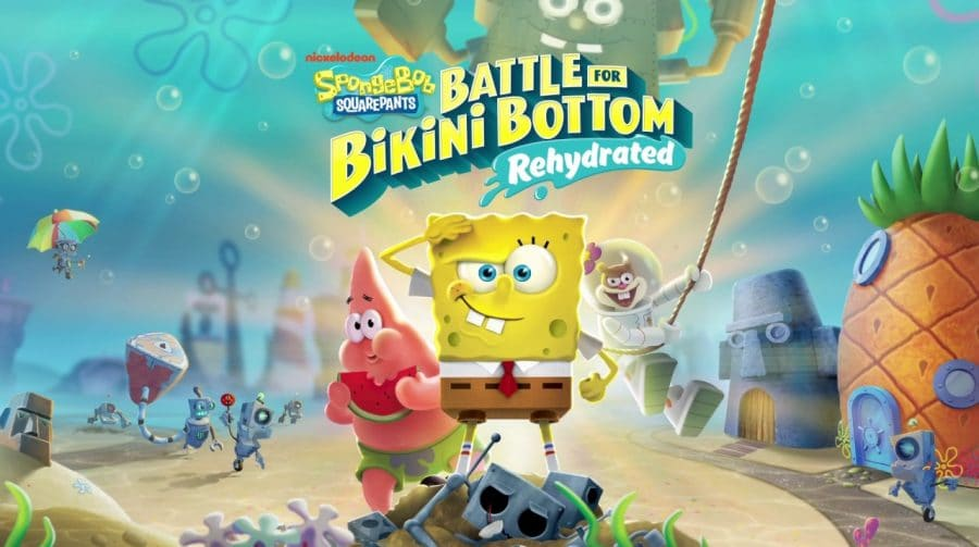 SpongeBob SquarePants: Battle for Bikini Bottom - Rehydrated: Bem-vindo a Fenda do Biquíni