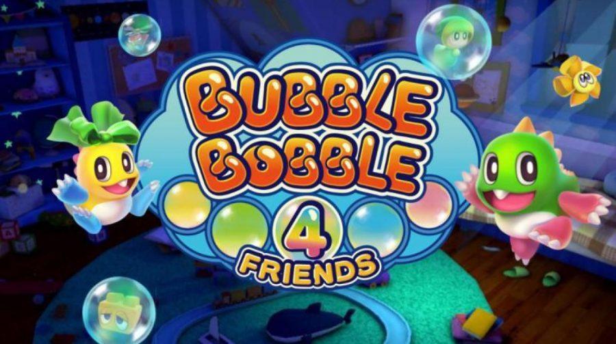 Bubble Bobble 4 Friends, um game de plataforma, chegará ao PS4
